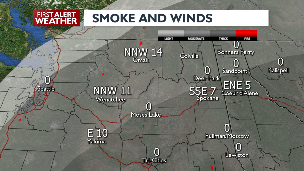 Smoke And Winds August 25