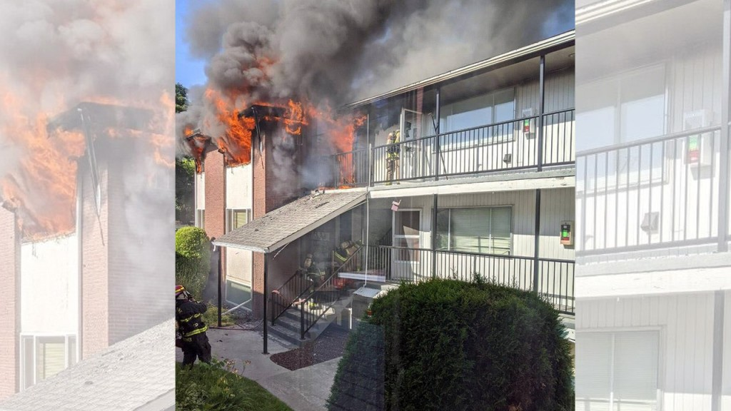 Apartment Complex Fire