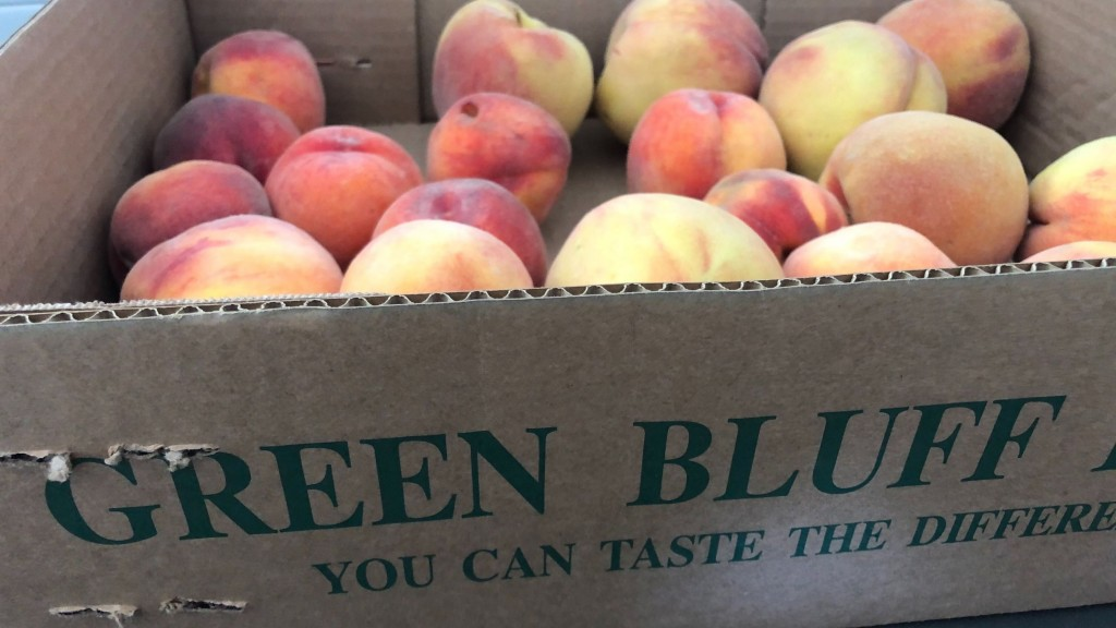 Green Bluff Peaches