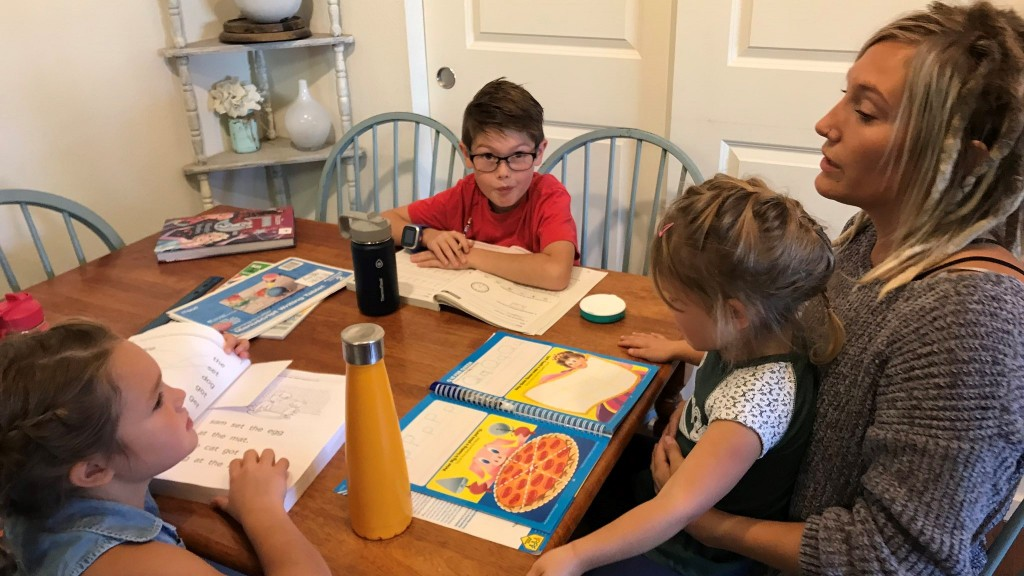 Spokane mom starts homeschooling for the first time