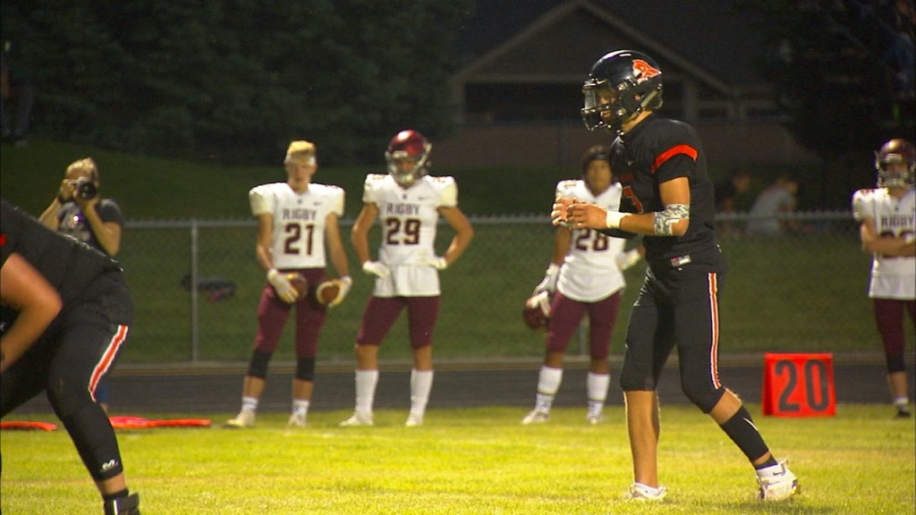 Post Falls comes up just short against defending state champion Rigby Friday Night