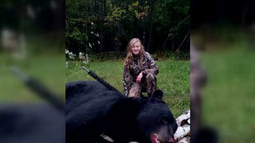 11 Year Old Girl From Wisconsin Bags Bear That May Be One For The Record Books