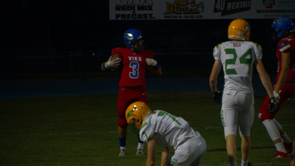 The Coeur d'Alene Vikings improve to 2-0 with another big win against Lakeland