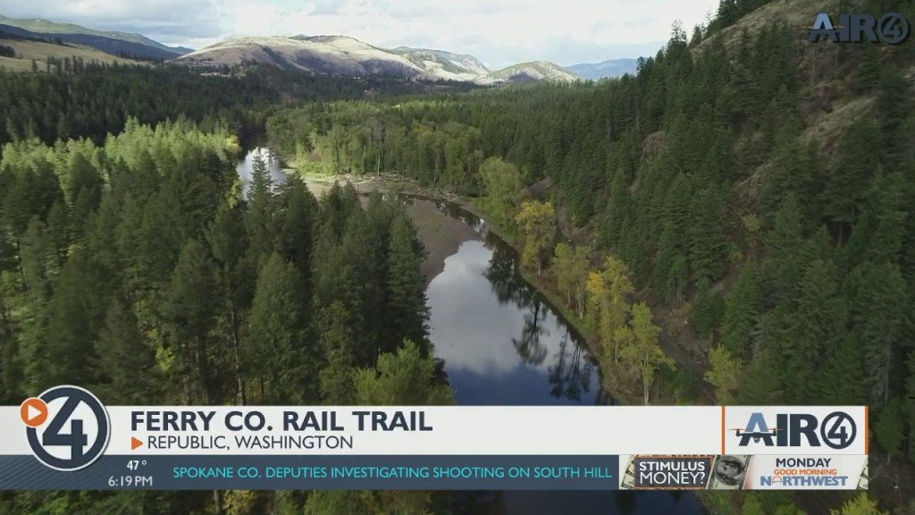 Air 4 Adventure: Ferry County Rail Trail
