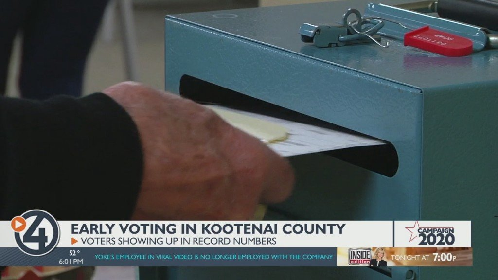 Early Voting Draws Large Lines In Kootenai County