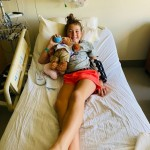 SYDNEY IN HOSPITAL BED