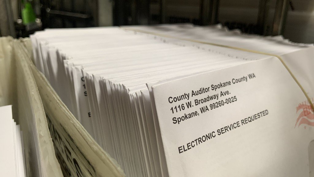 Spokane County Ballots Ready To Mail Out