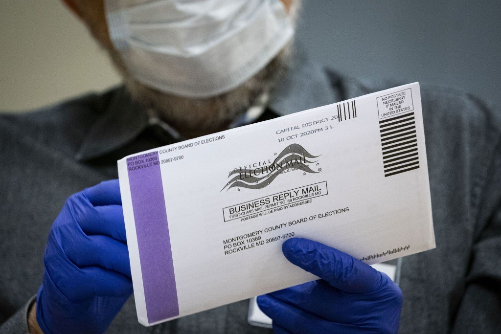 Mail In Ballots Processed Ahead Of Presidential Election
