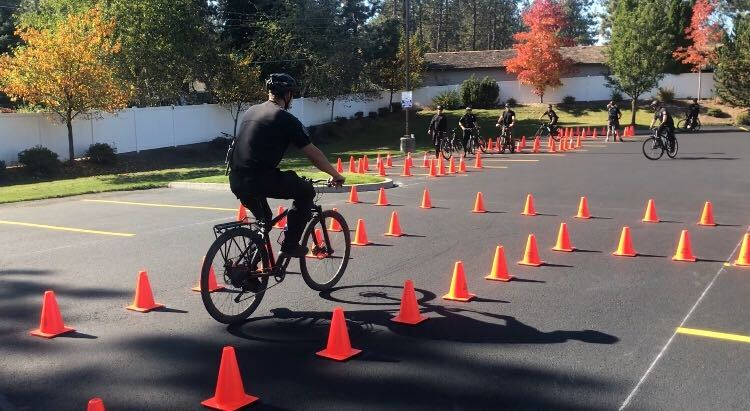 Spokane Police Bike Training Officer