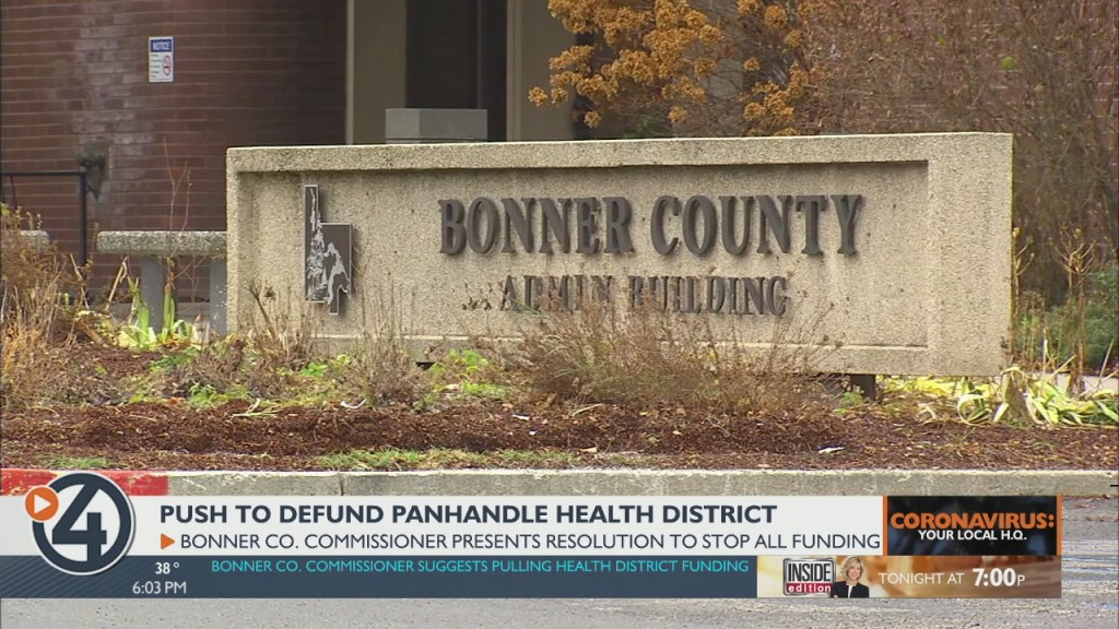 Bonner Co. Commissioner Pushes To Defund Panhandle Health