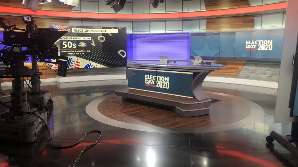 4 News Now Election 2020 Set