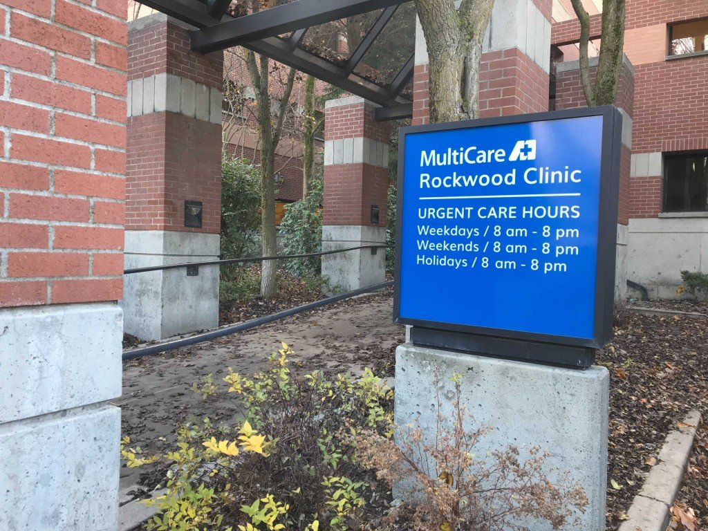 Rockwood Clinic Exterior Sign