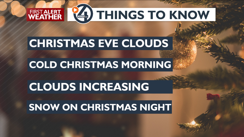 4 things to know- Christmas Eve