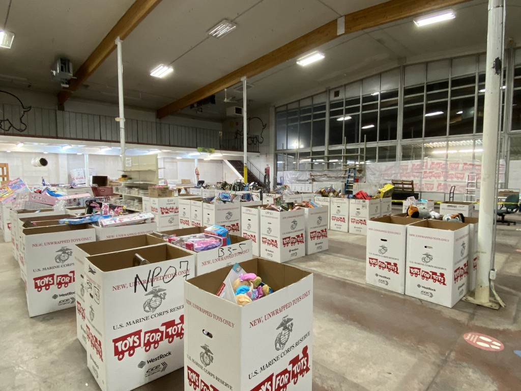 Toys for Tots of Spokane helping families with Christmas presents through toy pick-up