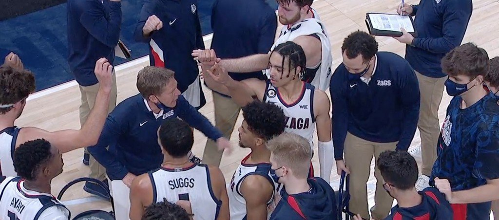 Gonzaga takes down No. 11 West Virginia