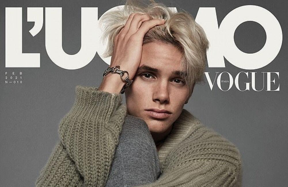 Romeo Beckham Makes Victoria And David 'so Proud' With Debut Vogue Cover