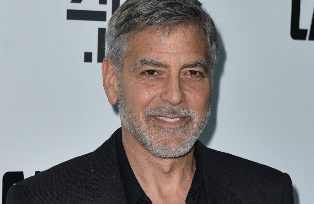 George Clooney Misses Family