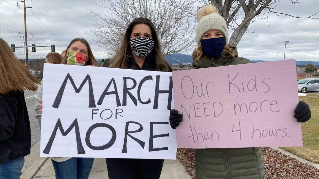 march for more 3