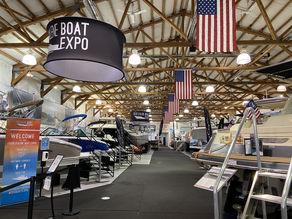 Second annual Coeur d'Alene Boat Expo continues through the weekend