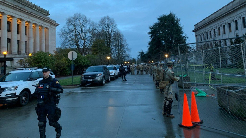 Capitol Wsp National Guard