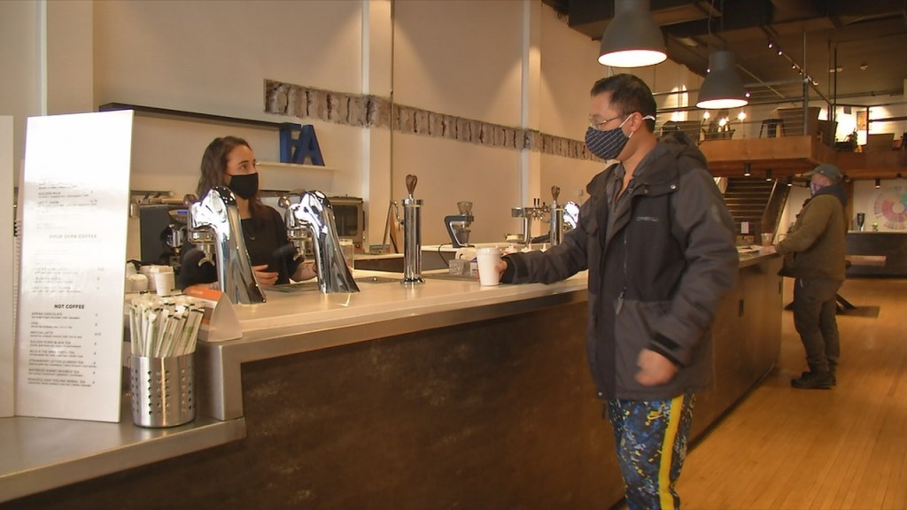 Coffee shop vows to stay green