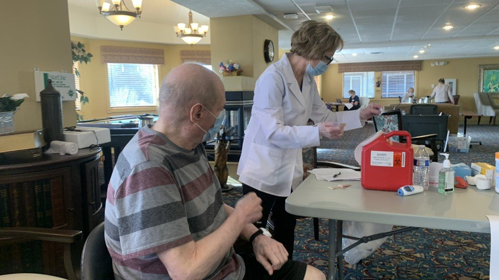 South Hill Village Gets Vaccinated