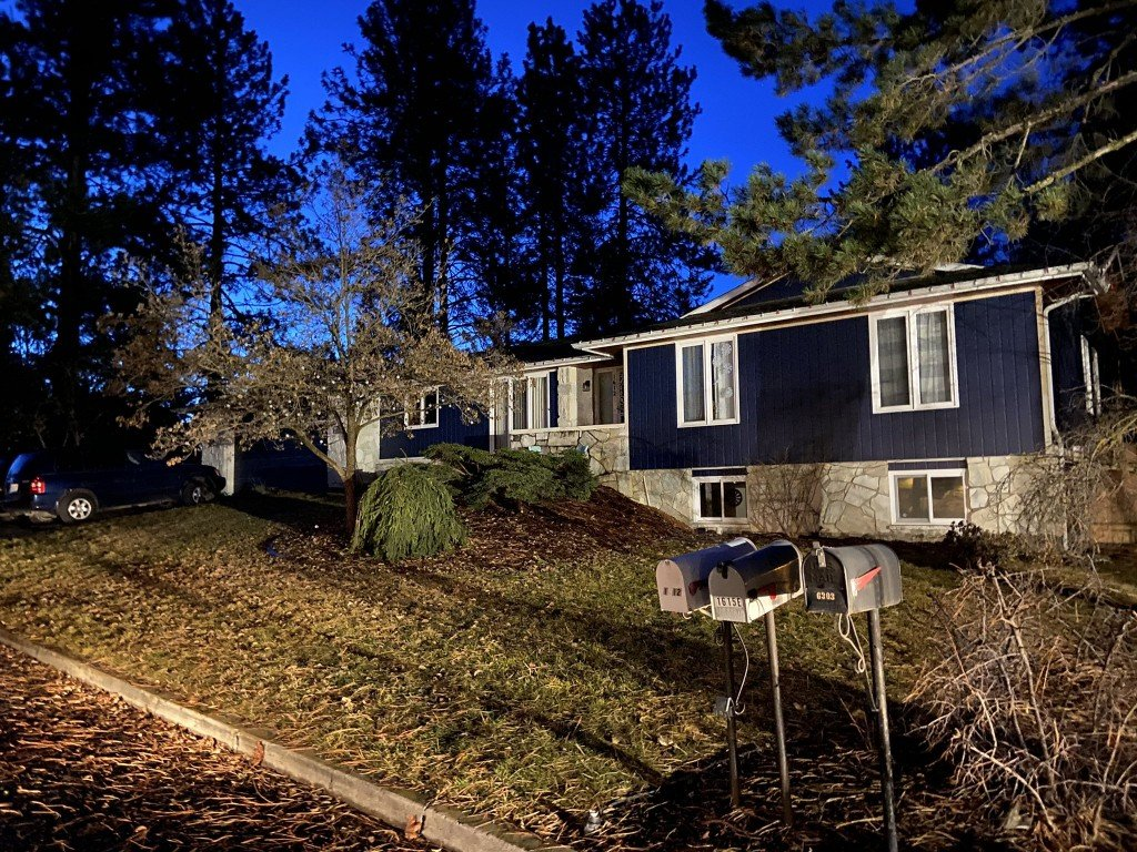 Tree Hits South Hill Home