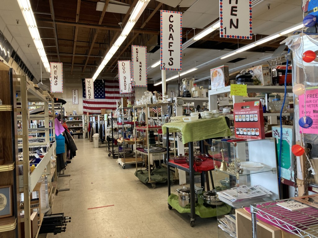 Veterans Thrift Store needs help to buy a new heater.