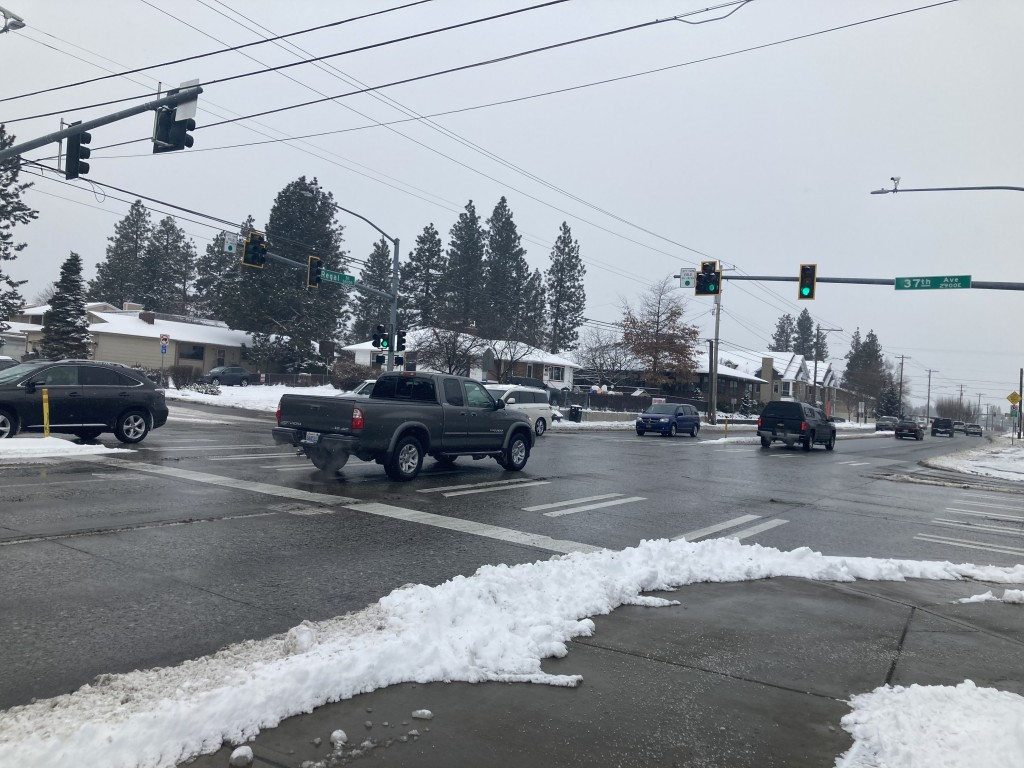 City looks to improve traffic patterns on the South Hill, near Ferris High School.