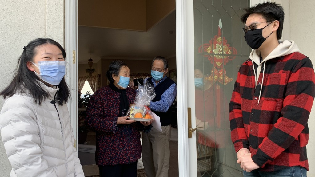 Spokane Chinese Association Brings Gift Baskets To The Community For Lunar New Year