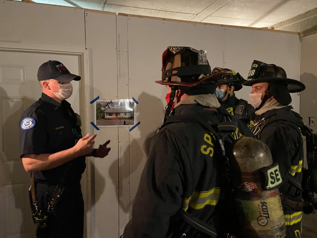 Spokane Fire Dept. develops new training model for rescuing people trapped in a house fire