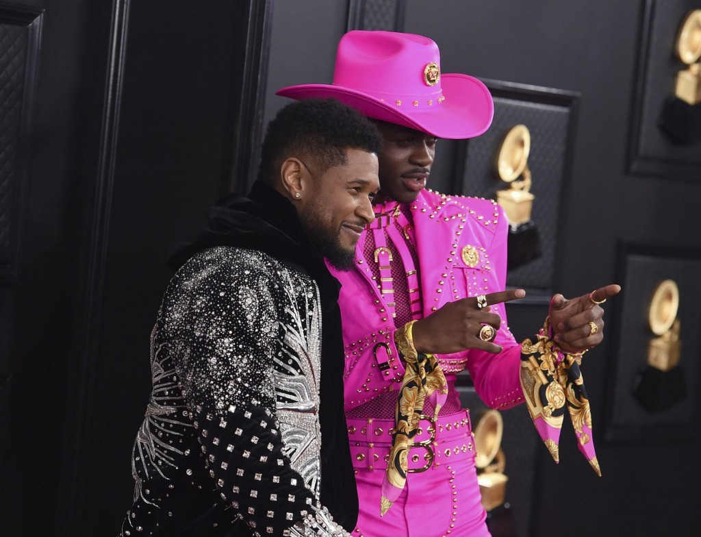 A Look Back At Red Carpet Photos From The 2020 Grammy Awards