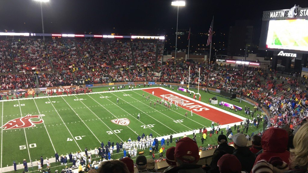 Martin Stadium at WSU