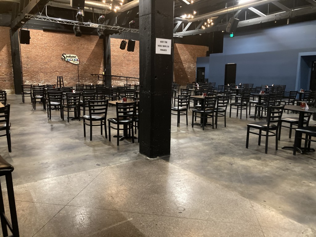 Entertainment venues excited to seat more guests.