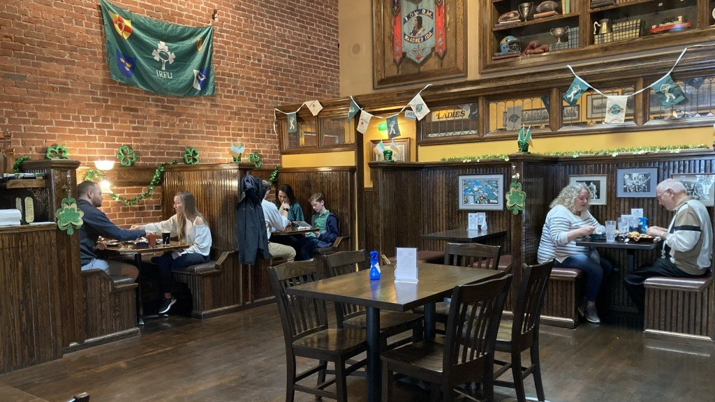 Local restaurants to be open for St. Patrick's Day.