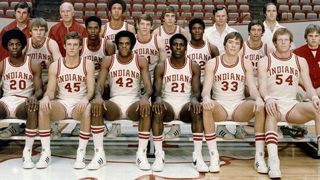 The 1976 Indiana Hoosiers are the last team to finish a season undefeated in men's college basketball
