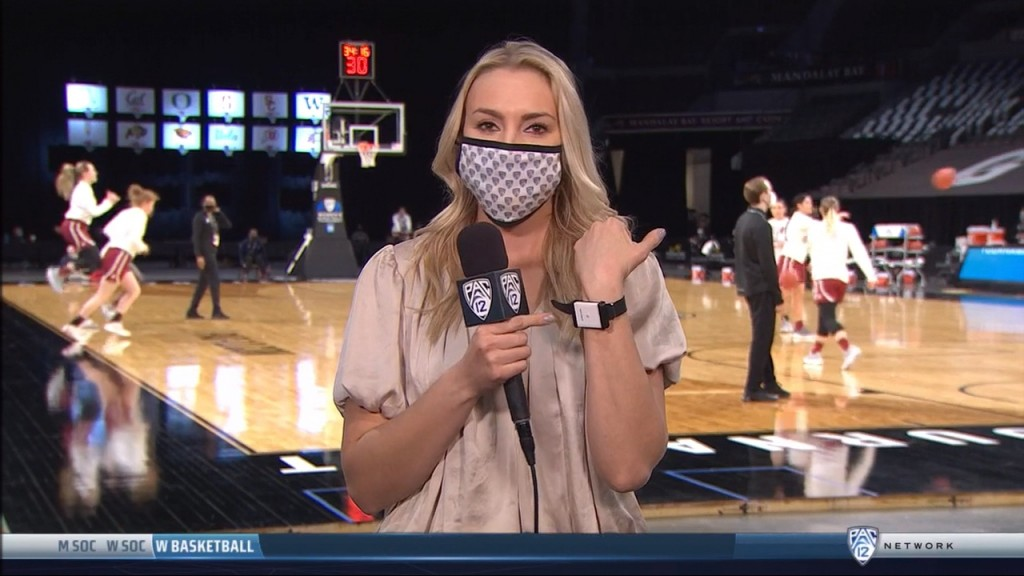 Alyssa Charlston shows us the safety protocols that kept the Pac-12 women's tournament Covid free.