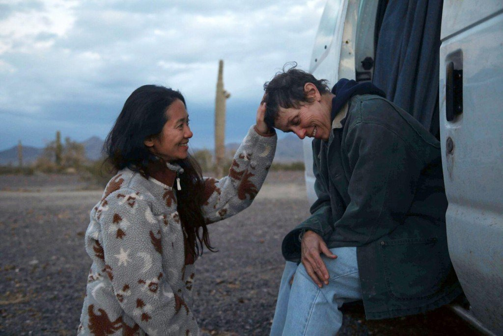 In Possible Oscar Preview, 'nomadland' Wins At Spirit Awards