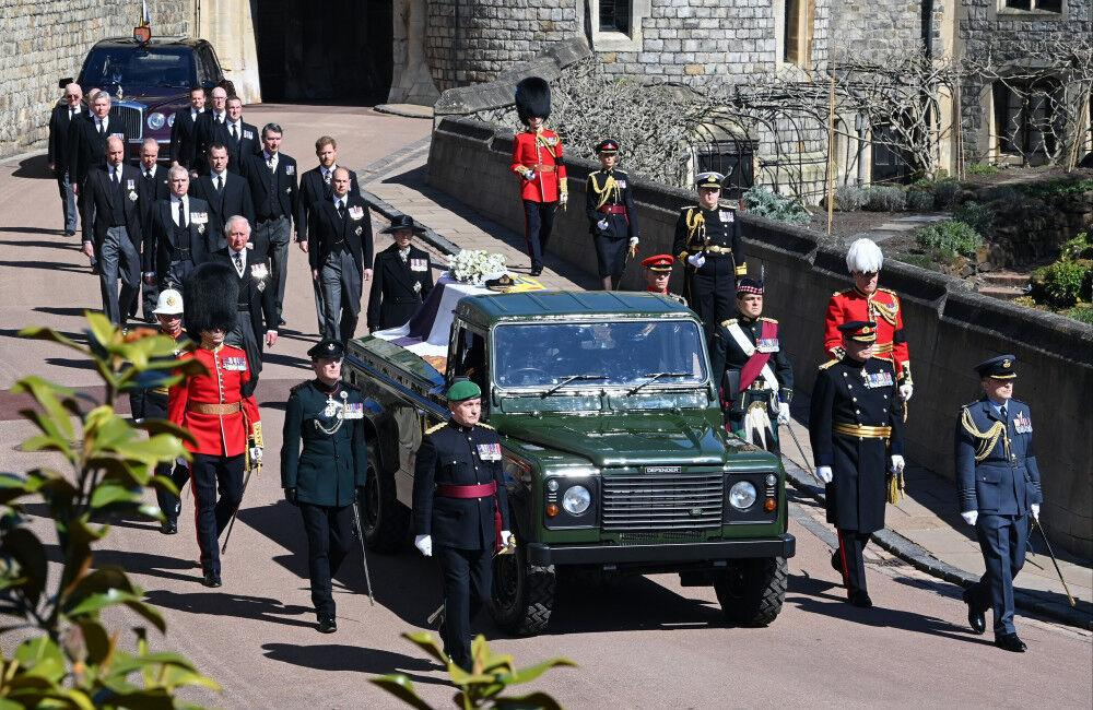 Prince Philip Laid To Rest