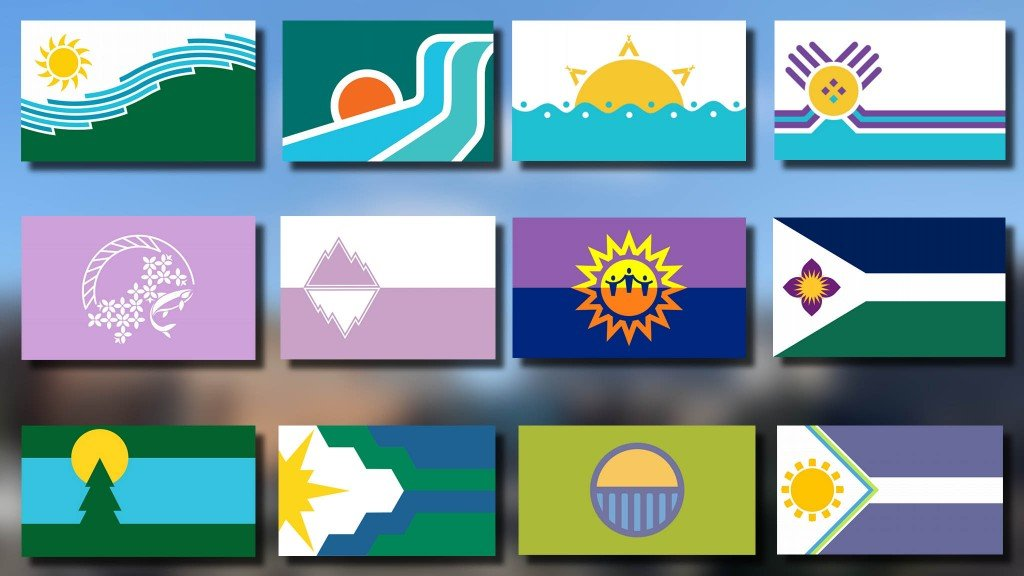 Spokane Flags