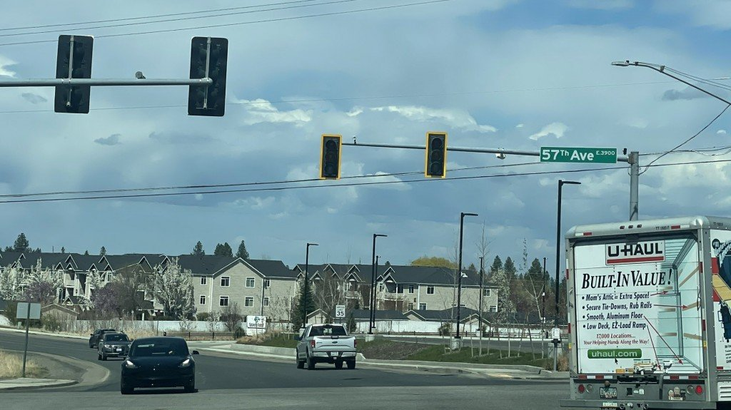 Traffic Lights Off Moran Prairie