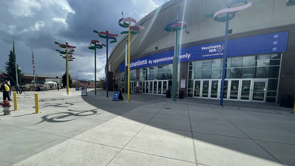 Spokane Arena Vaccine Site
