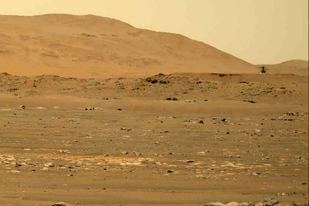 Mars Helicopter Aces 4th Flight, Gets Extra Month Of Flying