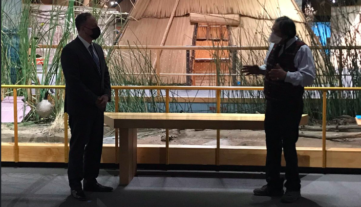Doug Emhoff Meets With Yakama Nation Tribal Council