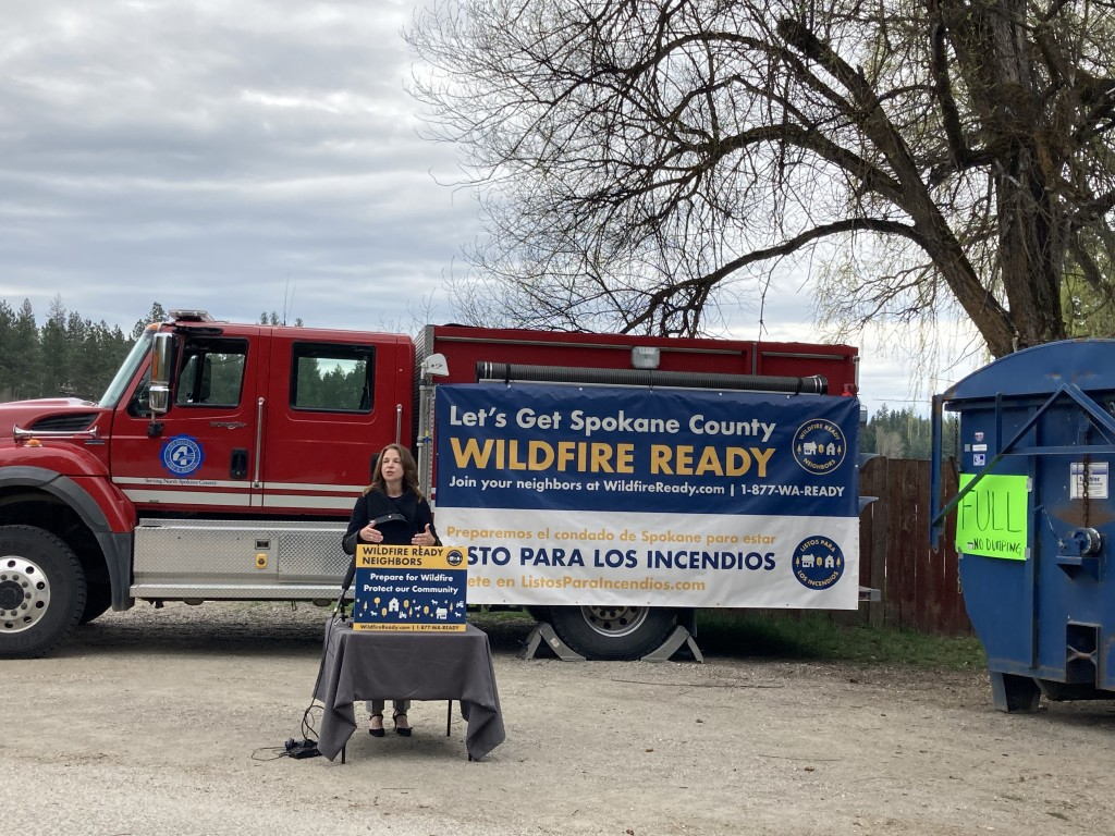 Wildfire Ready Neighbors Program kicks off in Spokane County.