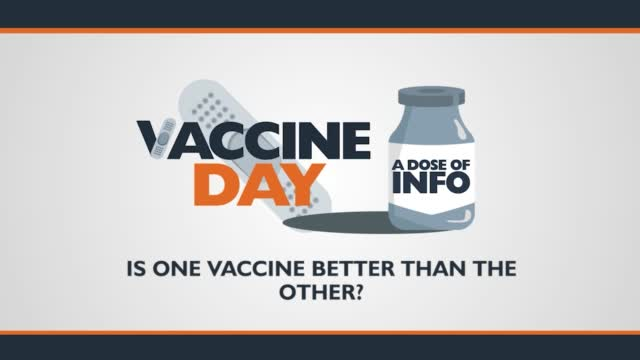 Dose Of Info: Is One Vaccine Better Than The Other?