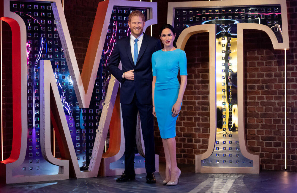 Duke And Duchess Of Sussex's Madame Tussauds Waxworks Get New Home