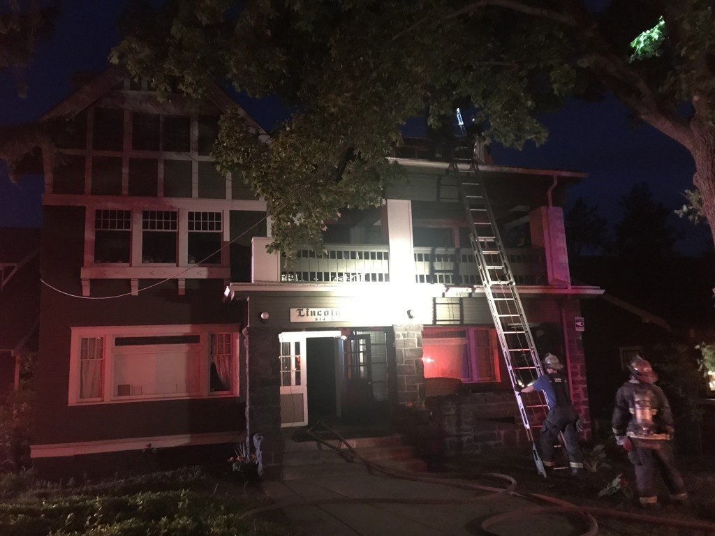 South Hill Fire