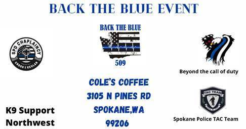 Back The Blue Event