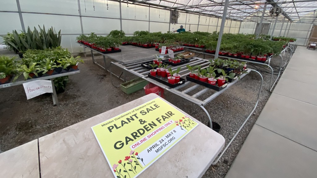 Master Gardeners online plant sale ends May 8